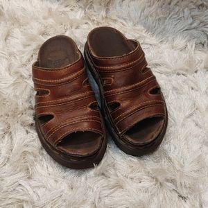 Vintage Dr Martens 90s platform slide sandals 5